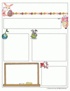 template for newsletter for teachers
