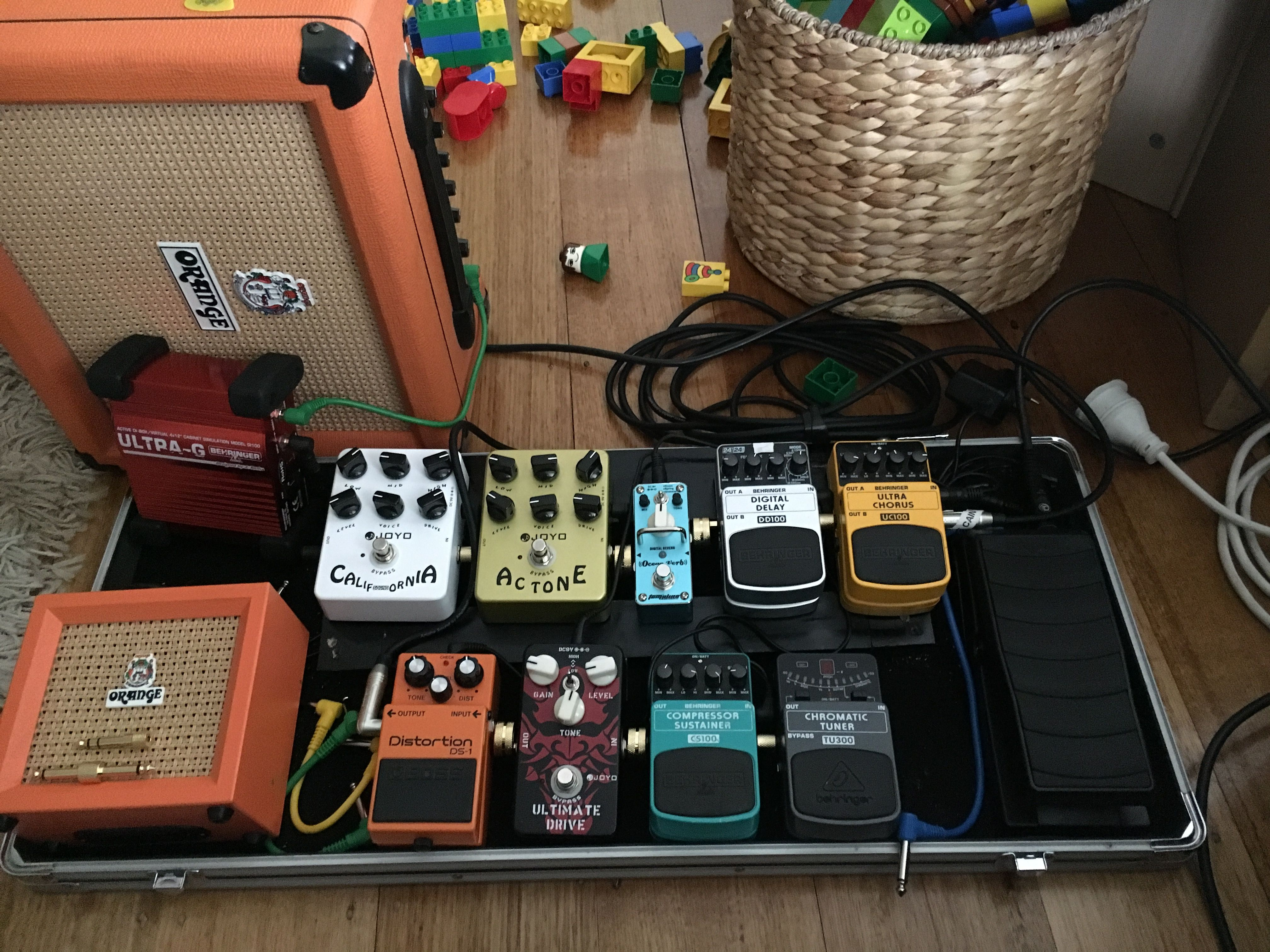 pedal board cheap pedals can have big tone guitar pedal boards pedalboard guitar pedals. Black Bedroom Furniture Sets. Home Design Ideas