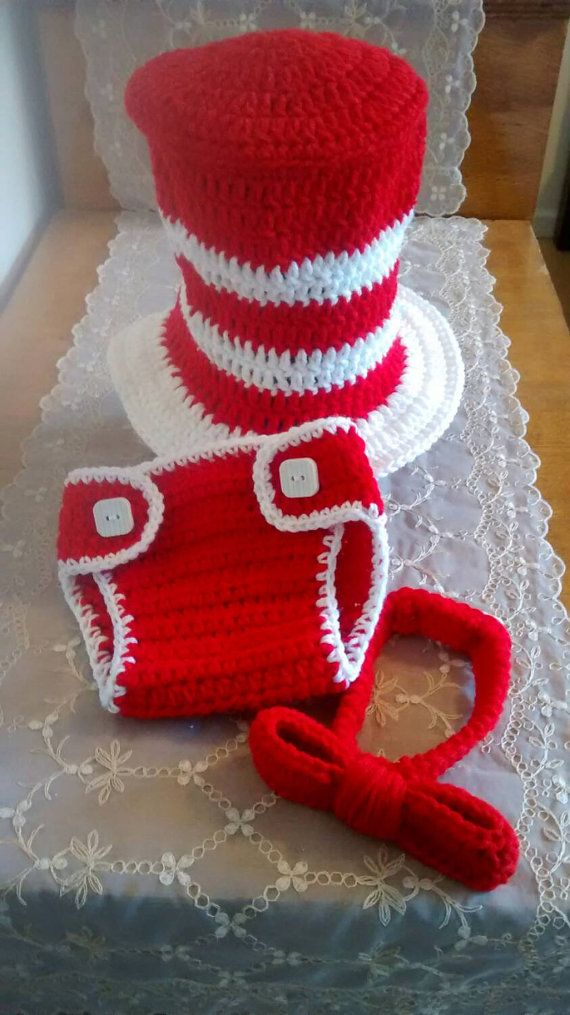 Crochet+Cat+in+the+Hat+Dr+Suess+Top+Hat+by+SelfMadeCreations ...