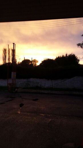 Odd sky over Wiltshire
