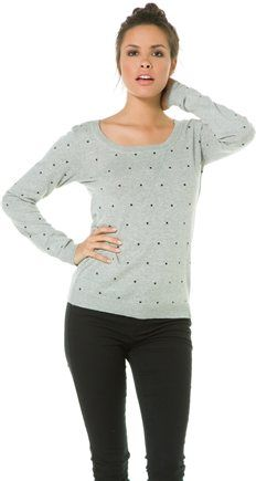 HURLEY BRUNA STUDDED SWEATER | Swell.com