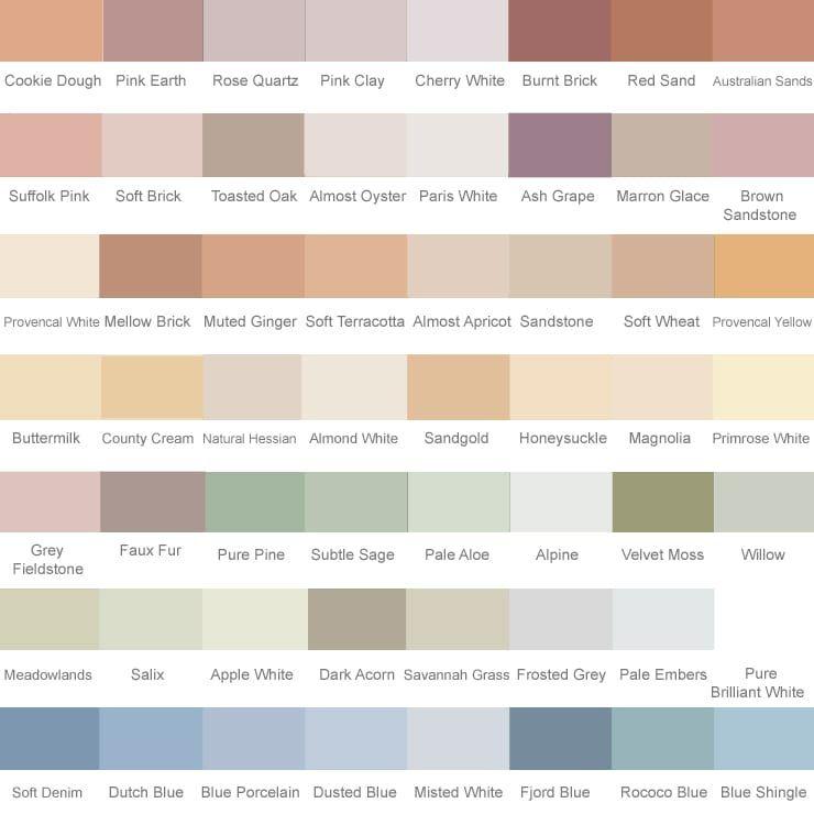 Dulux Exterior Wall Paint Colour Chart Paint Color Chart Masonry Paint Colours Dulux Exterior Paint Colours
