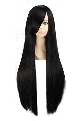 "eNilecor 31"" 39"" Women's Fashion Long Straight Anime Cosplay Costume Party Wigs (31"" 80cm, Black) eNilecor http://www.amazon.com/dp/B00XN8QPSW/ref=cm_sw_r_pi_dp_5NAxwb01GX4K1"