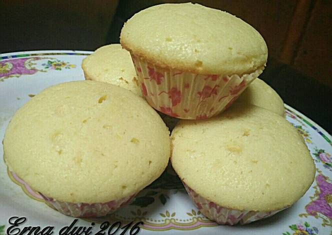 Resep Lemon Cupcake Oleh Erna Dwi Resep Memanggang Kue Makanan Lemon