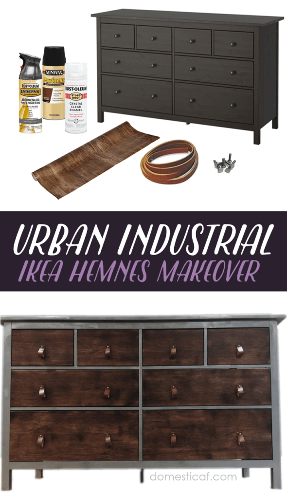 Industrial Version Of The Basic Ikea Storage Chest Moppe With Decorative Elements Added To The Frame Of The Picture Ikea Hack Diy Furniture Flip Ikea