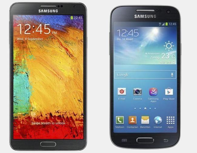 Vergelijking Samsung Galaxy Note 3 vs Samsung Galaxy S4 Mini | Versus OS