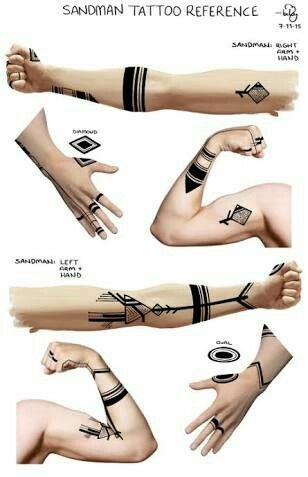 Sandman Tattoos Tatoo Pinterest Tatuajes Ideas De Tatuajes Y