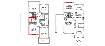 Image Result For 2 Story 900 Foot Square Footprint Floor Plan Floor Plans Square Footage House Design