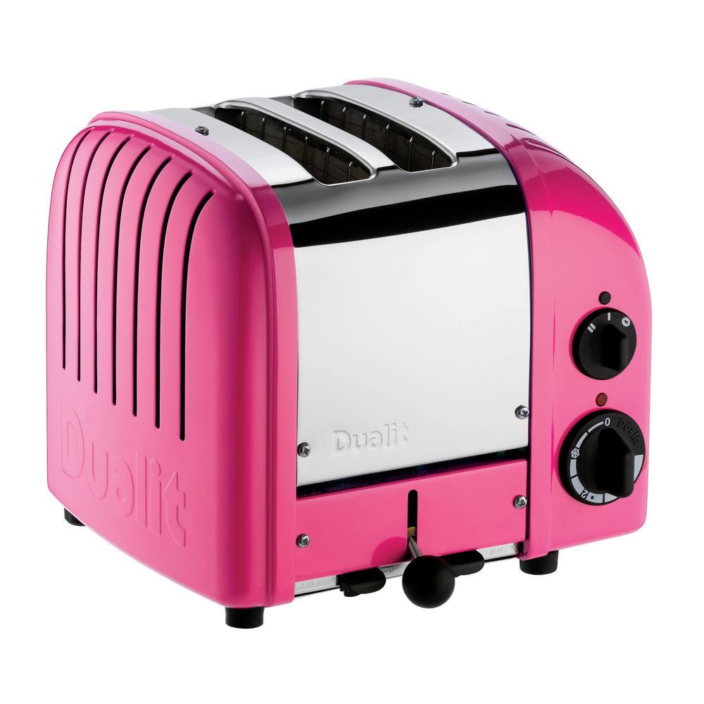 Dualit new gen 2slice copper wide slot toaster with crumb