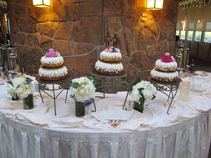 Bundt cake display bundt cake wedding events