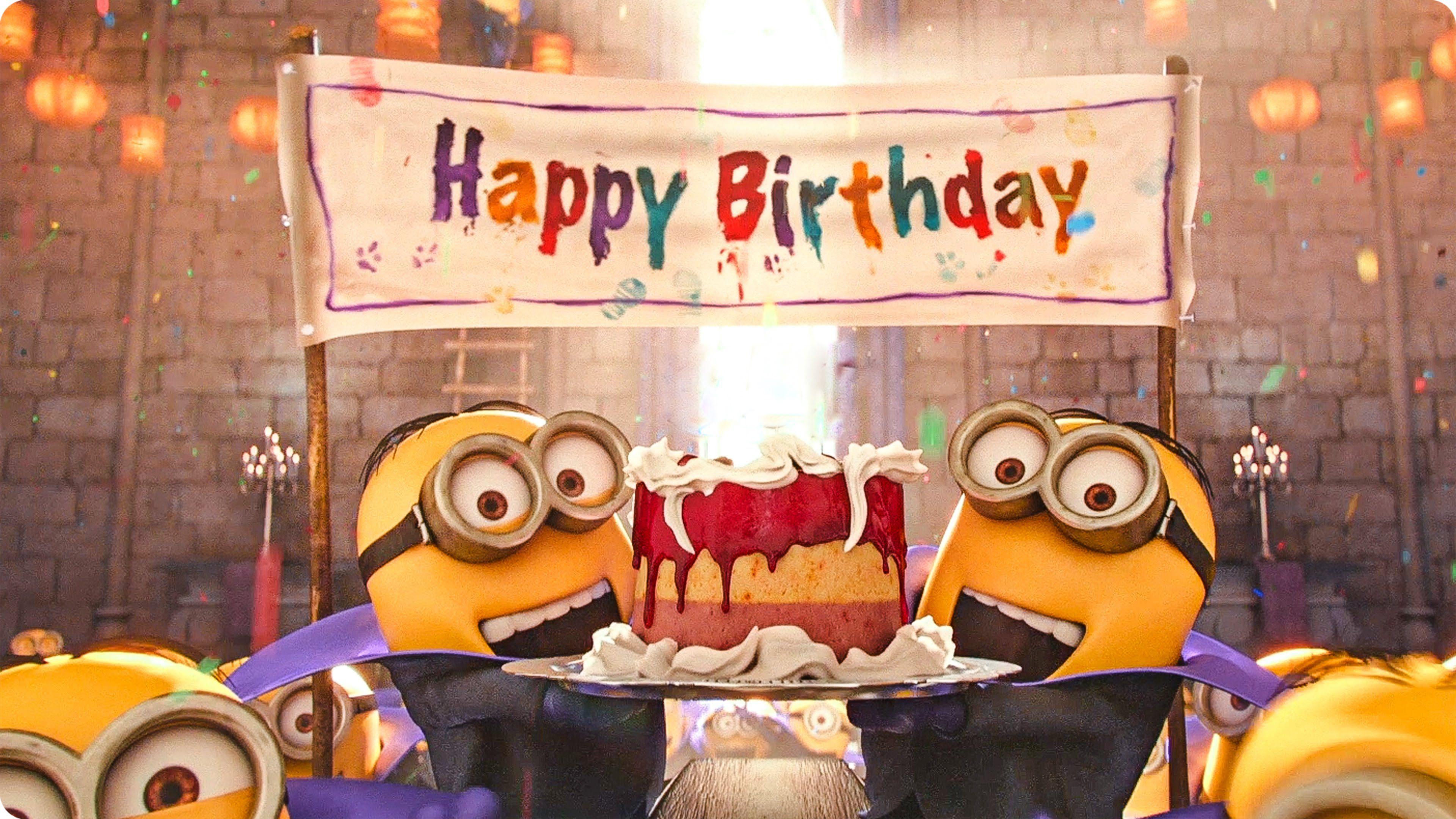 Happy Birthday Minions Alles Gute Geburtstag Minions