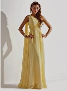 Pastel Yellow Bridesmaid Dresses Naf