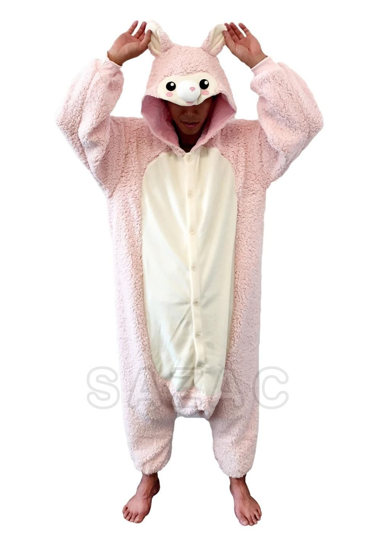 Pink Alpaca Kigurumi Pajamas Animal Pajamas Pyjamas
