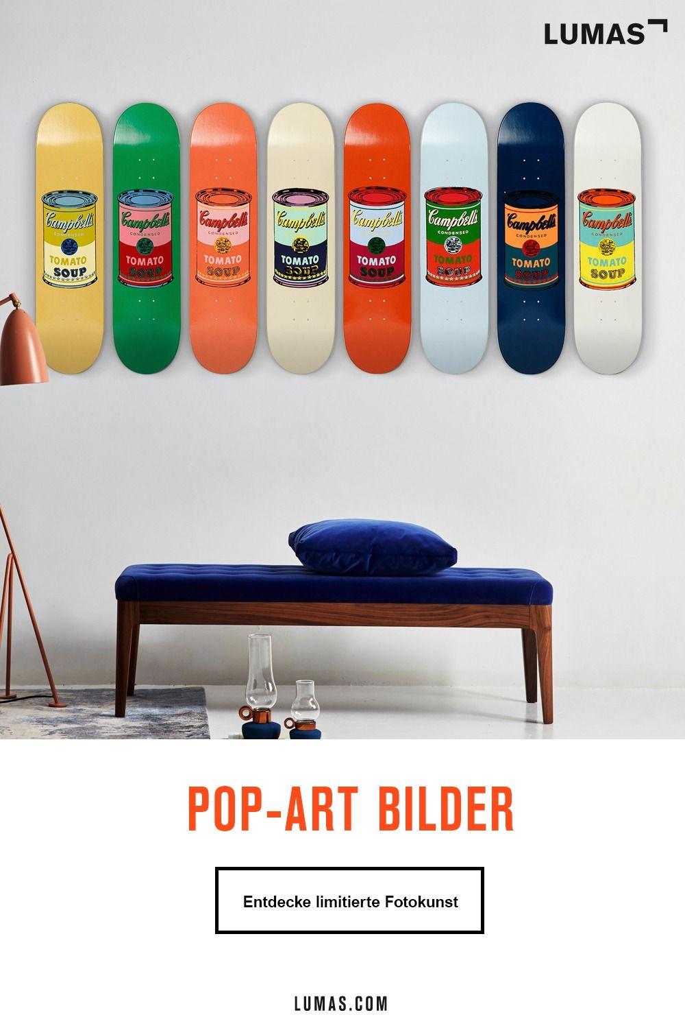Statement setzen mit Pop-Art Kunst von LUMAS!
