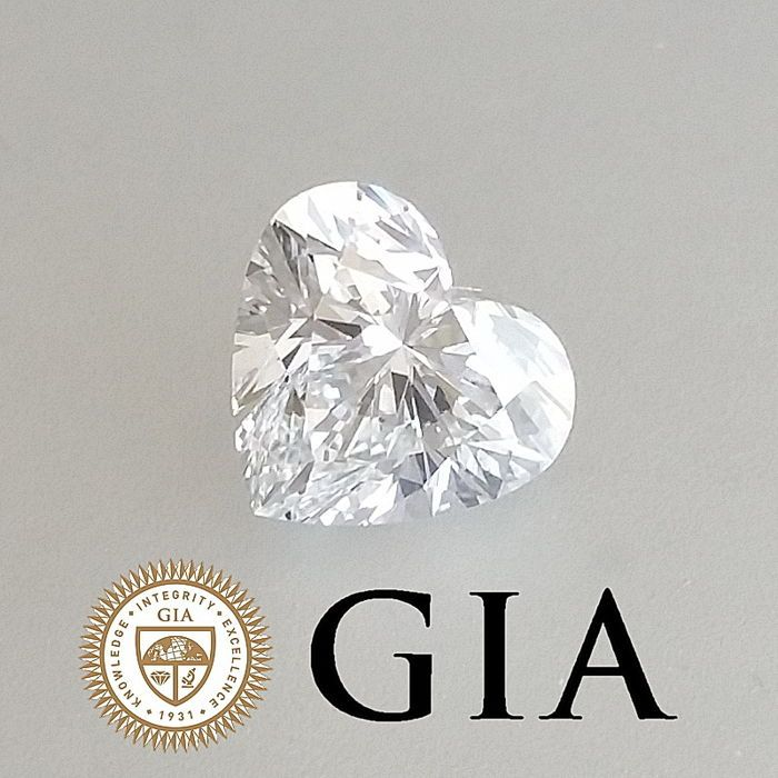 Explore Hart Doors and more! & GIA 1.00 ct D/VVS2 hart briljante Diamond originele afbeelding Vorm ...