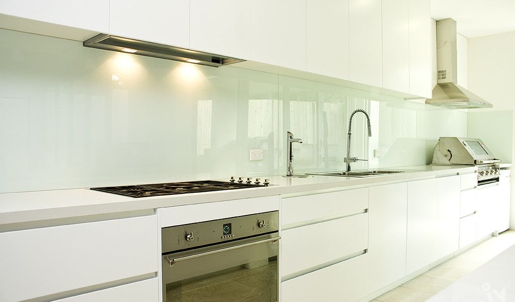White Kitchen Splashback Ideas glass splashbacks for your kitchen, bathroom or laundry. | home
