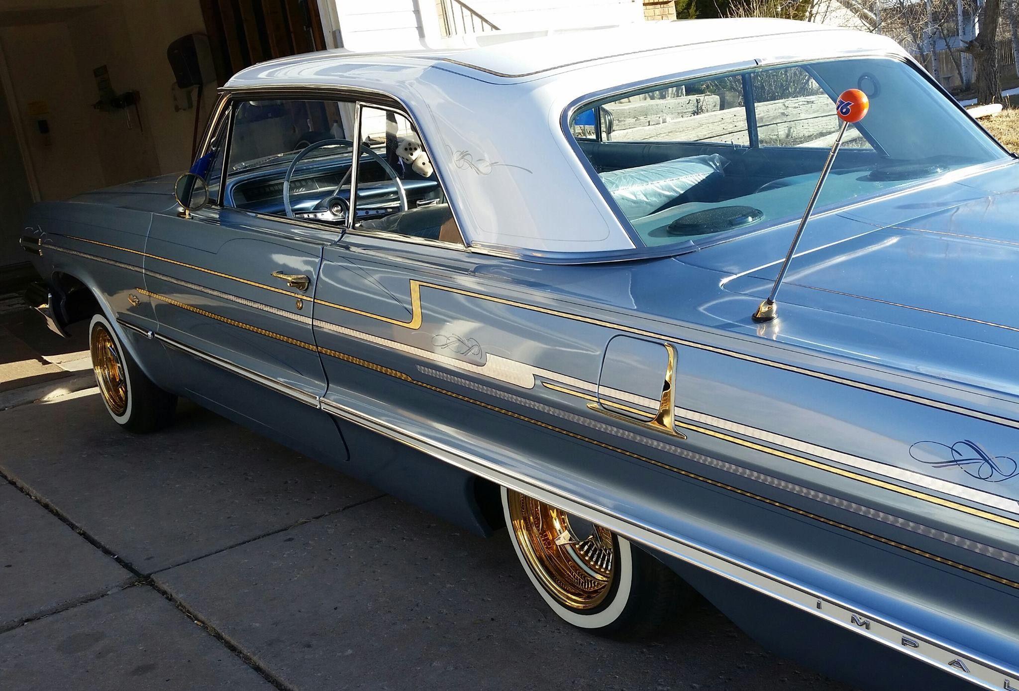 63 Chevy Impala low low.......