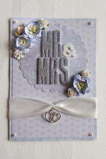 Beccapysslar: Weddingcard
