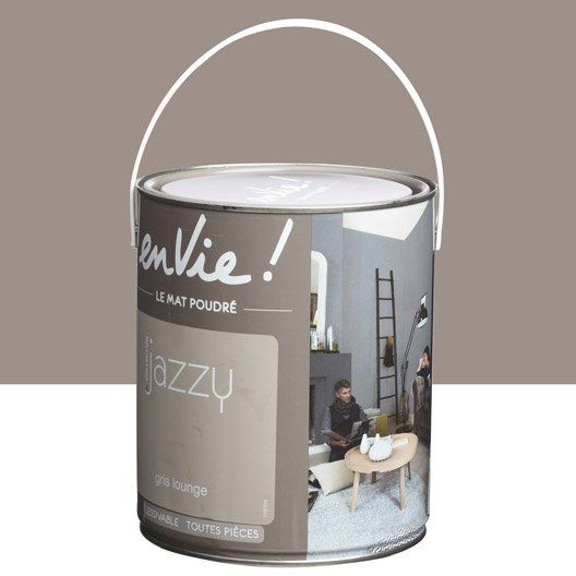 Peinture multisupports Envie Collection Jazzy LUXENS, gris lounge, 2.5 L