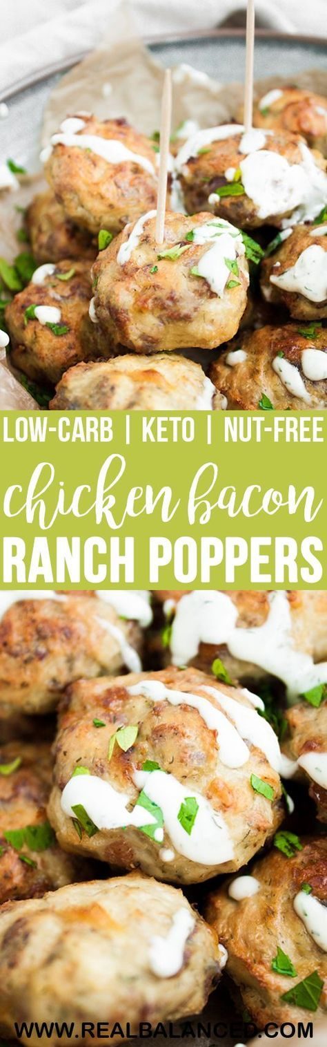 Chicken Bacon Ranch Poppers Chicken Bacon Ranch Poppers