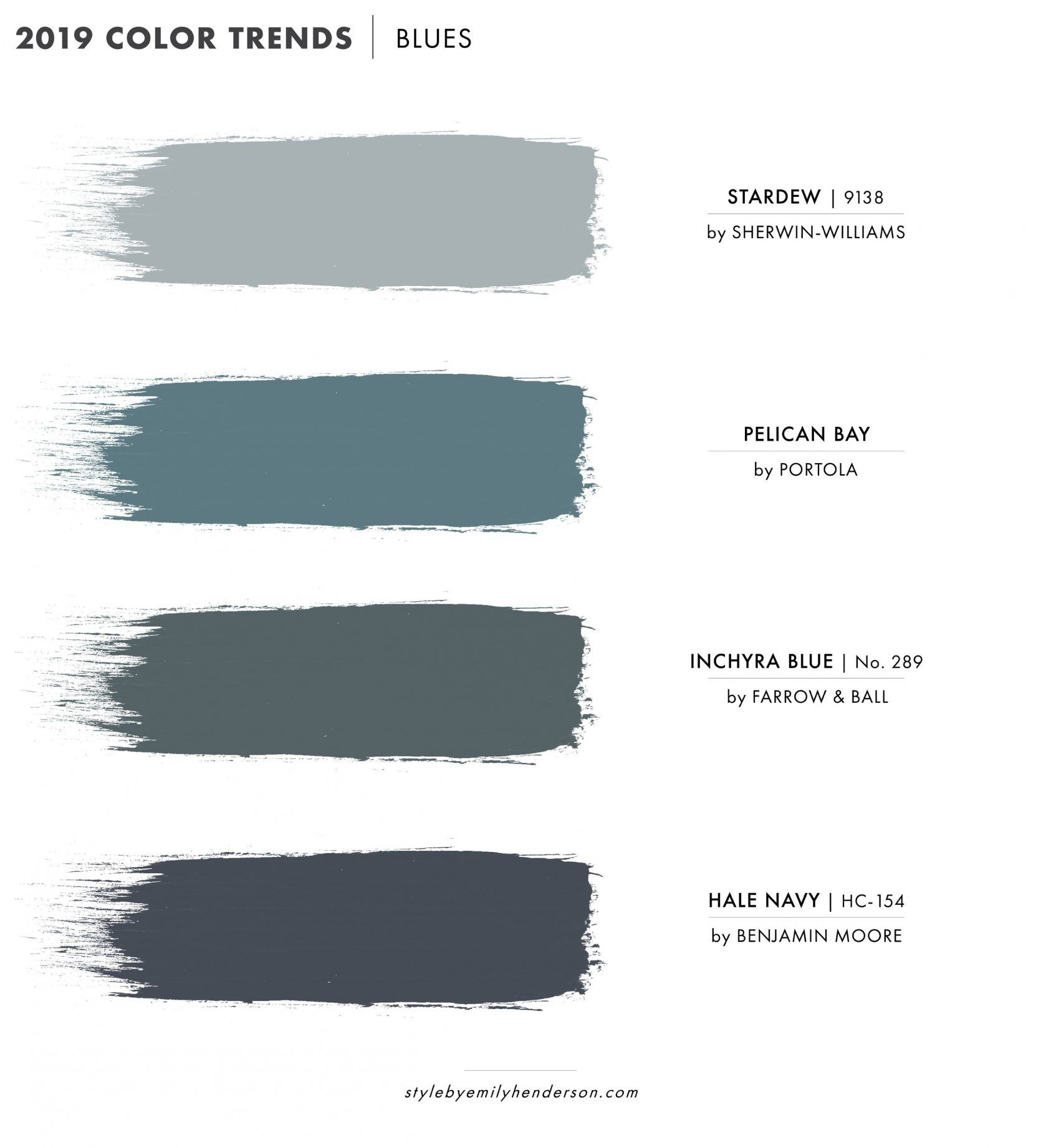 2019 Paint Color Trends images