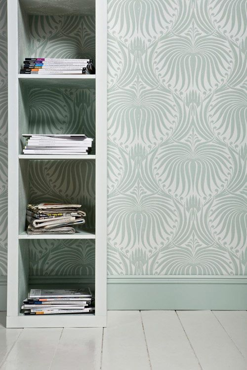 Farrow And Ball Silvergate Wallpaper