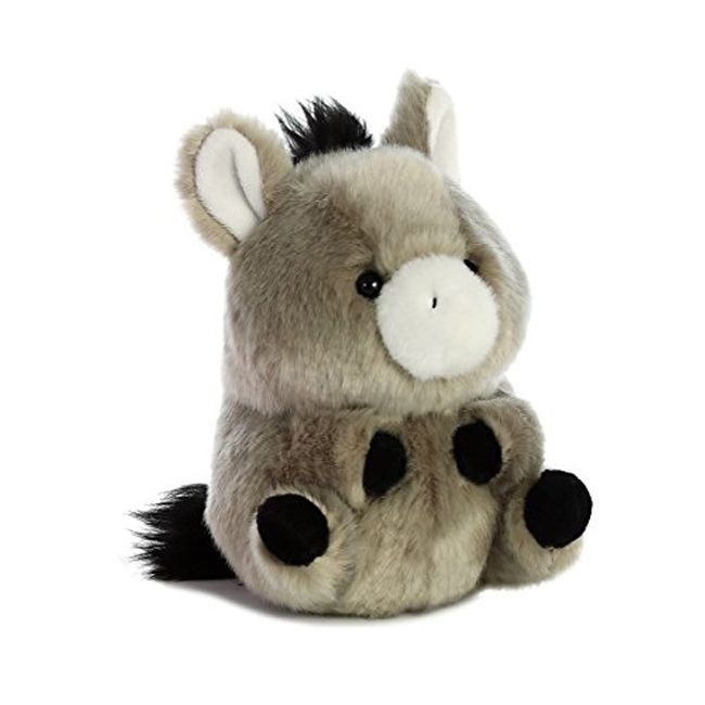 Aurora World Rolly Pet Bray Donkey Plush