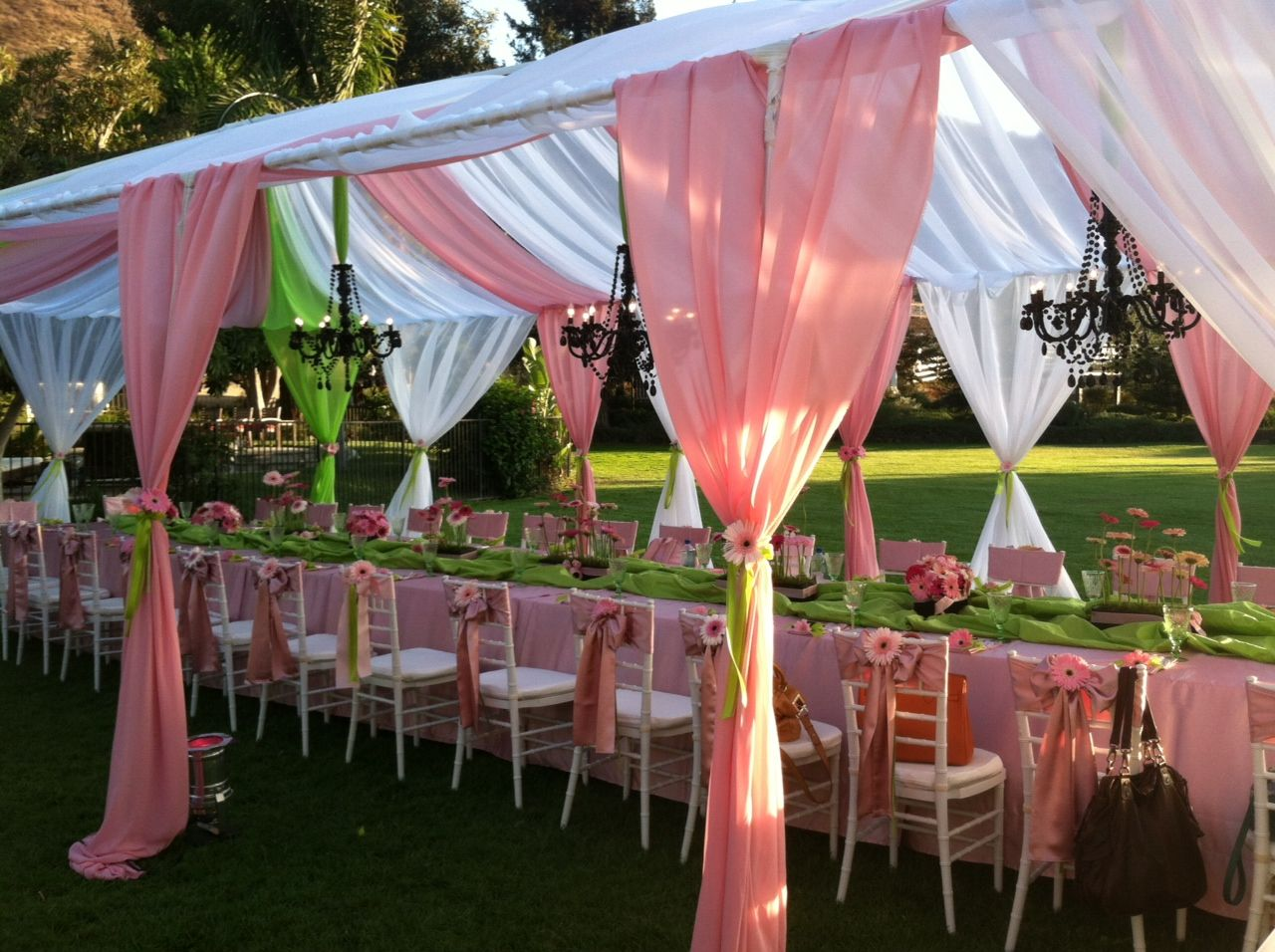My secret garden baby shower baby showers pinterest for Baby shower canopy decoration