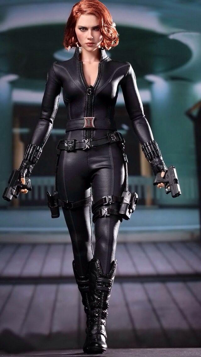 Sexy black widow costume