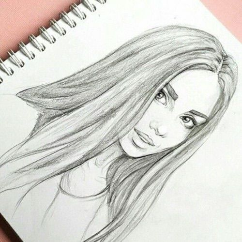 Photo of Image about We Heart It weheartit.com / … #art #beautiful #drawing #girl – heart