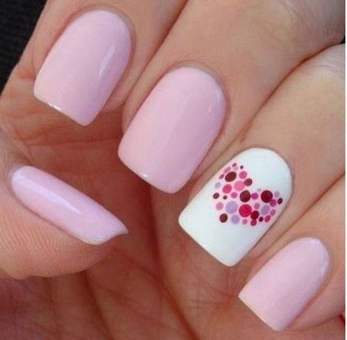So Beauty Sticker Slice Heart Butterfly Nails Pinterest Nail