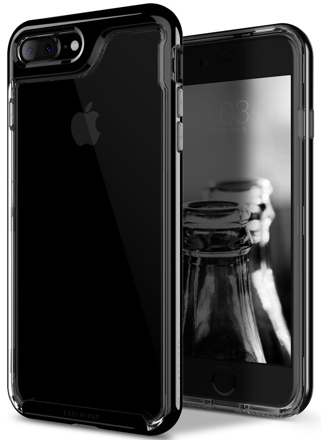 iphone 7 jet black senza custodia