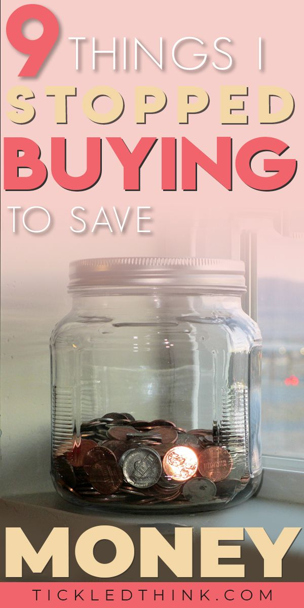 9 Things I Stopped buying to save Money #startsavingmoney