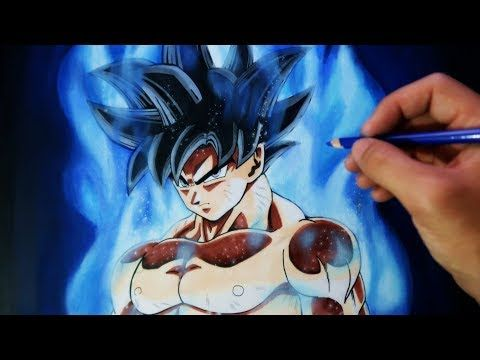 Como Dibujar A Goku Migatte No Gokui Limit Breaker Dragon Ball