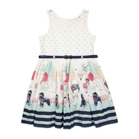 a251973d02d5 George UK Girls Belted Summer Dress