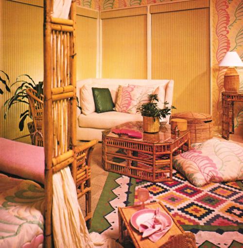 1970s Decor Playboy Studio Vintage Home 70s