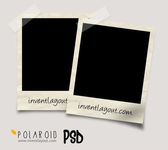 Free Polaroid Mockup Psd Templates Photo Collage Template Free