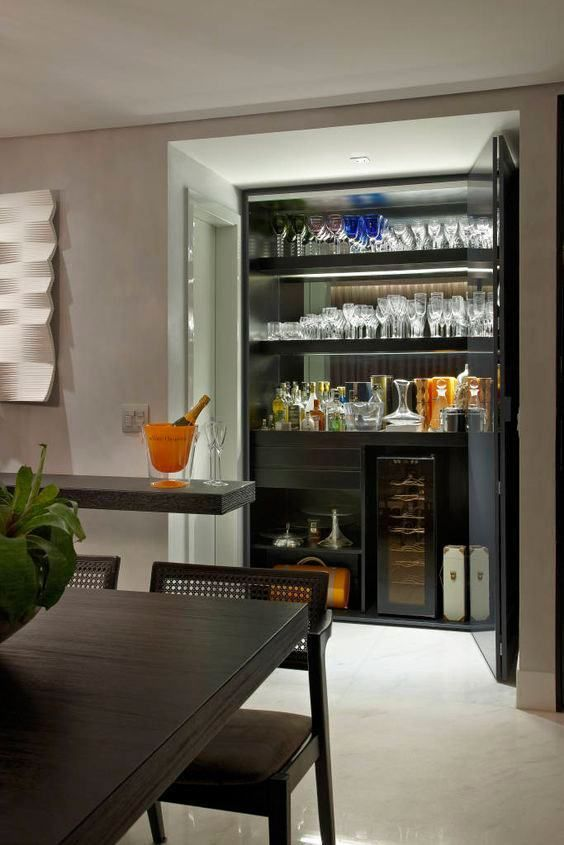 Bar Counter, Home, Bar Ideas, Game Rooms, Basements, Zen, Lounge,  Arquitetura, Wine Cellars