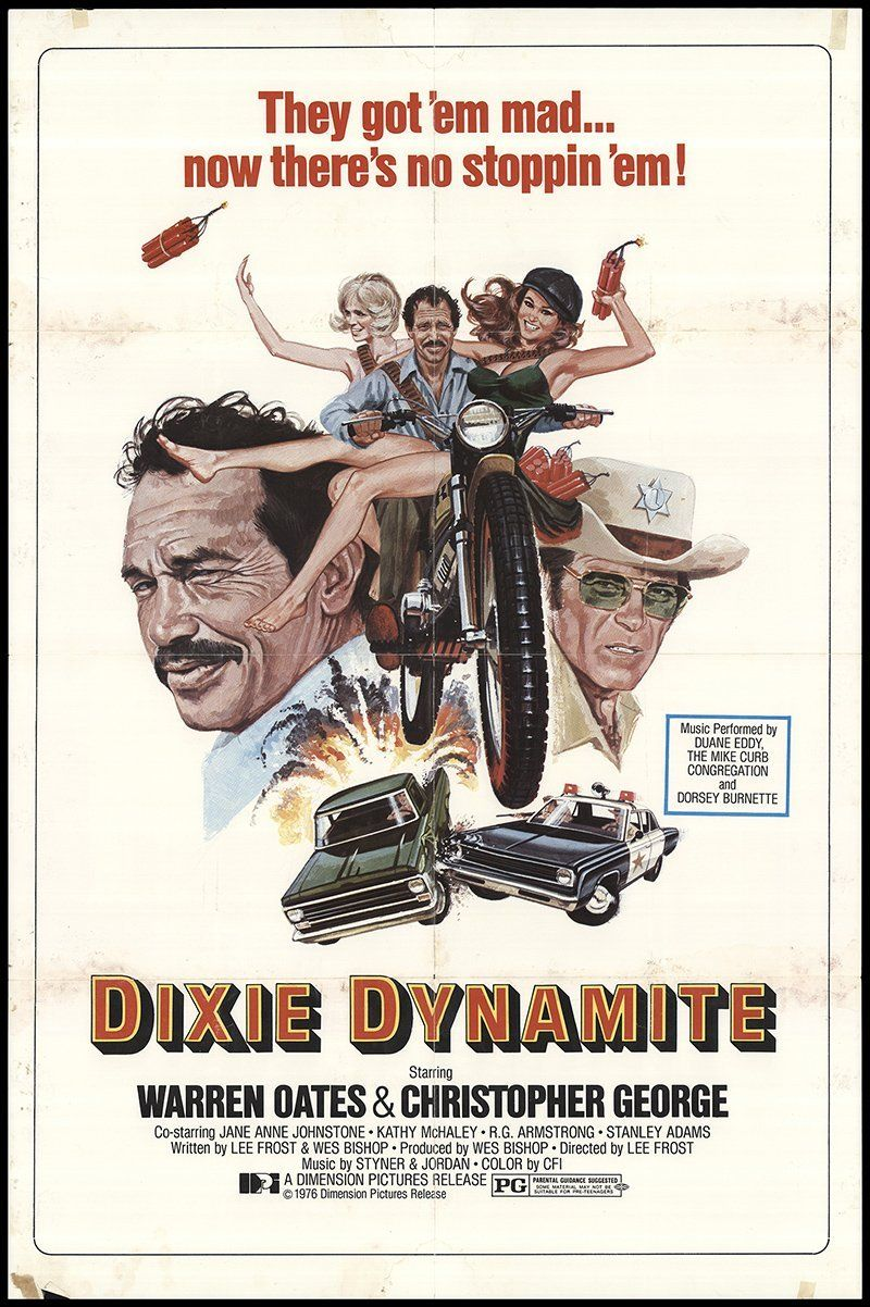 Dixie dynamite 1976 authentic 27 x 41 original movie