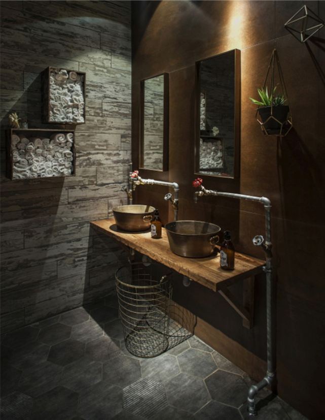Genial el espacio invernadero de segev kitchen garden for Bathroom design restaurant