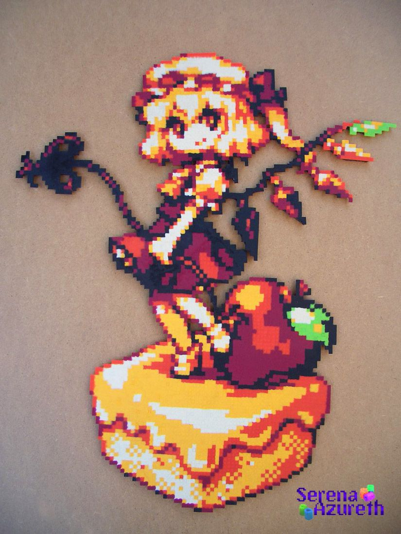 Flandre Scarlet Tart by ~SerenaAzureth on deviantART