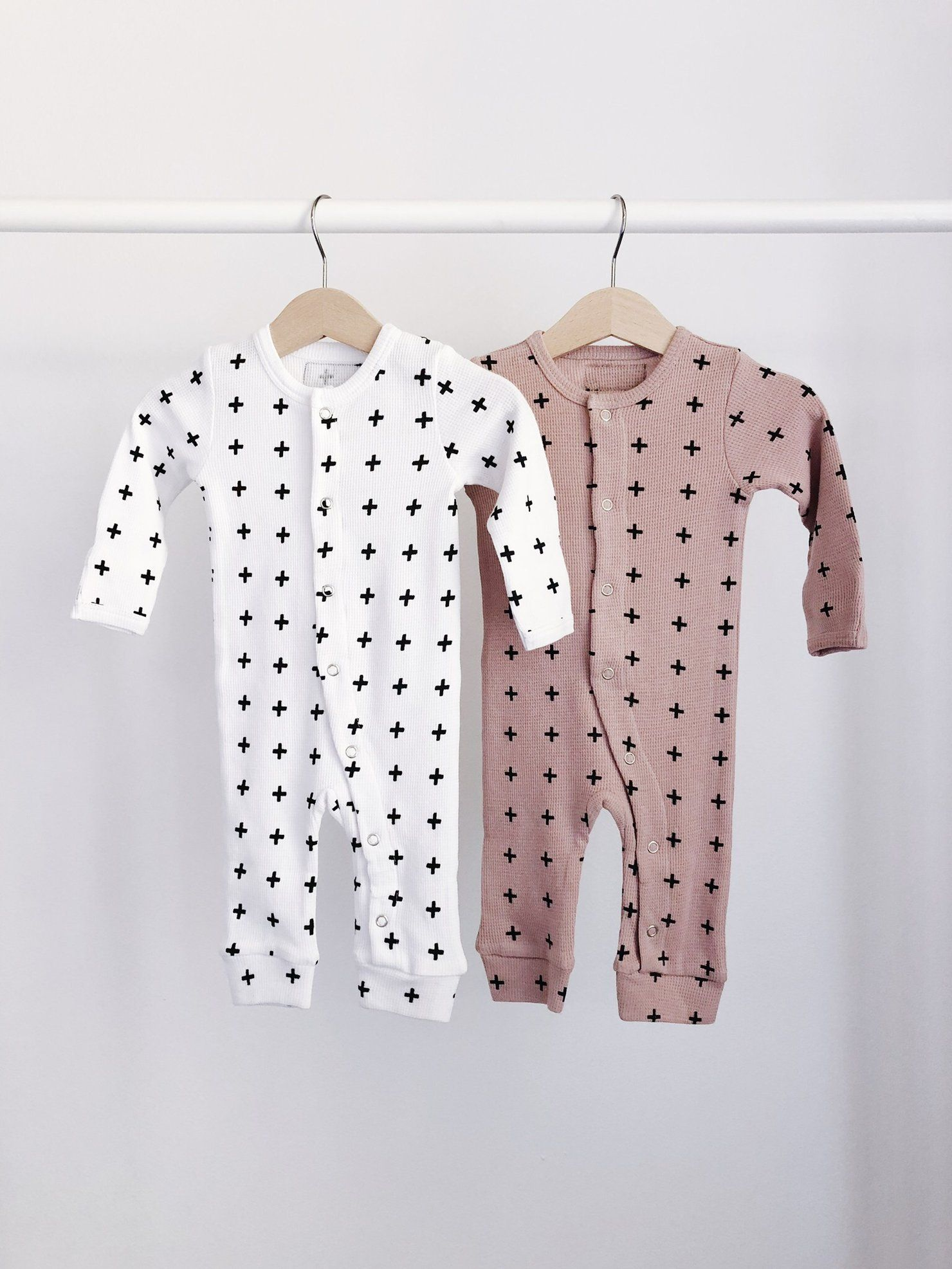 Organic Button Thermal Coverall Prints 2 Options Preemie