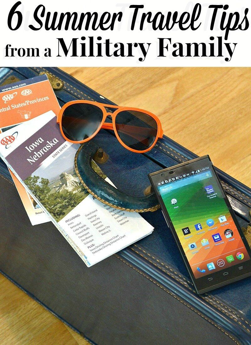 6 Summer Travel Tips From A Military Family Summer Travel
