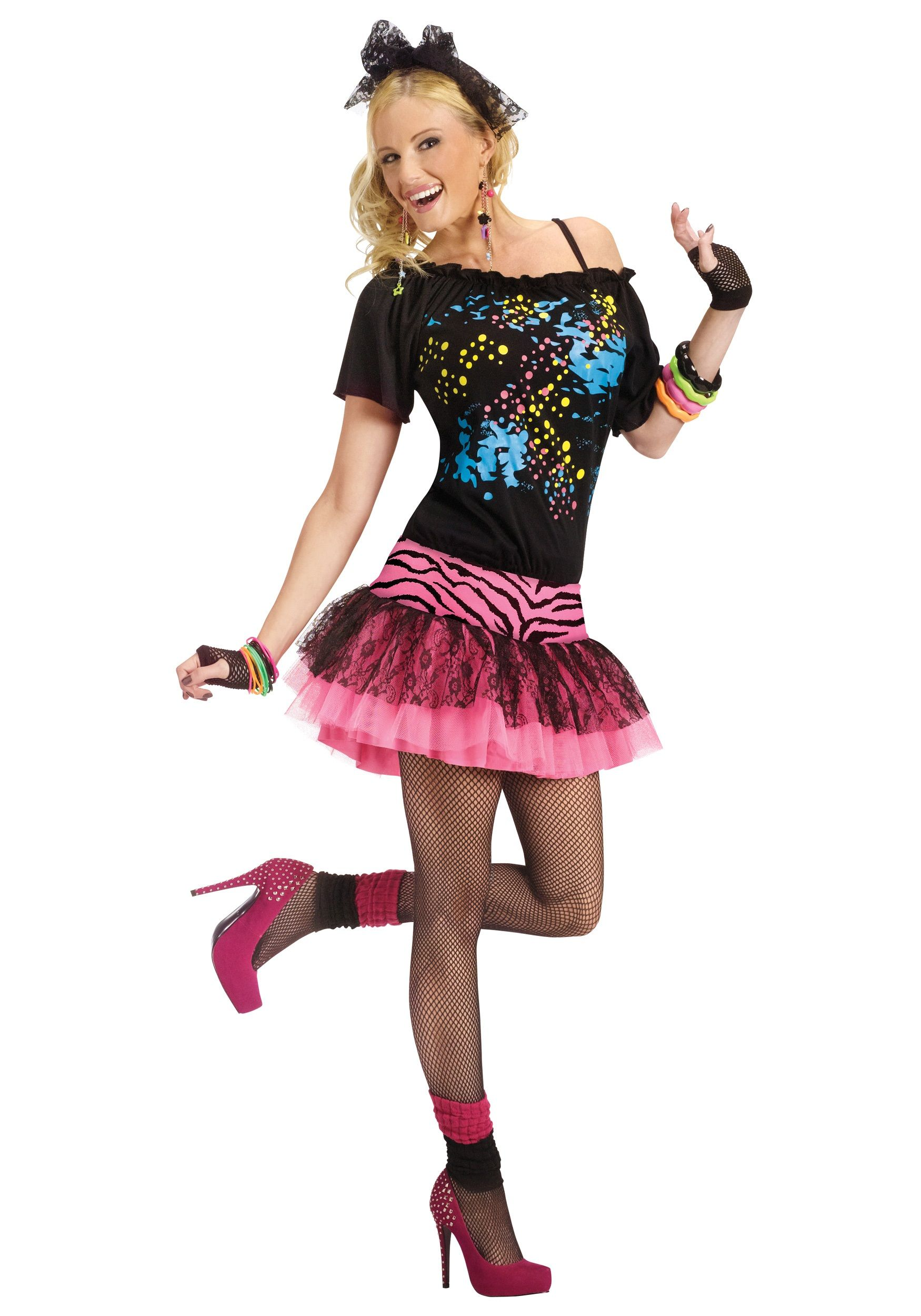 80s dress | Home Halloween Costume Ideas 80s Costume Ideas Adult 80s ...