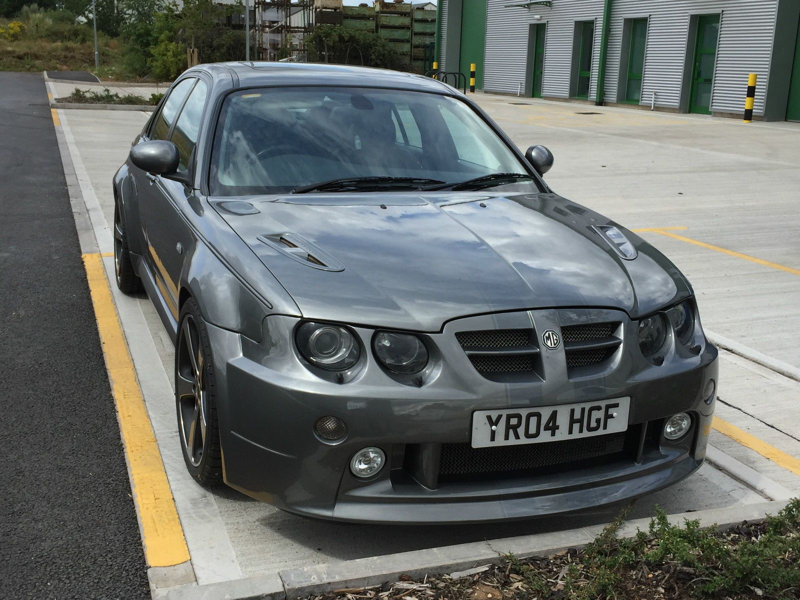 mg zt se 260 v8 x power grey 2004 mustang not rover 75 project mustang gray and cars. Black Bedroom Furniture Sets. Home Design Ideas