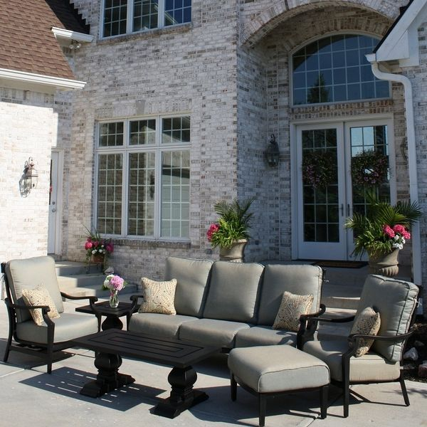 San Dimas Deep Seating Collection By Veranda Classics   Patio Furniture