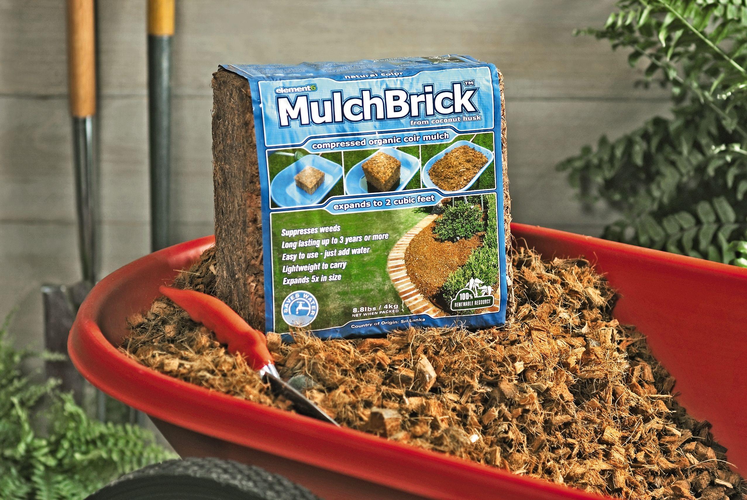 Coconut Mulch - Coir Mulch - Coconut Husk Mulch - MulchBrick