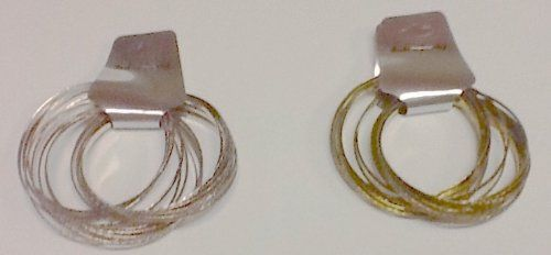 Unique set of bangles 10 bronze & 10 titanium silver for both children and adults