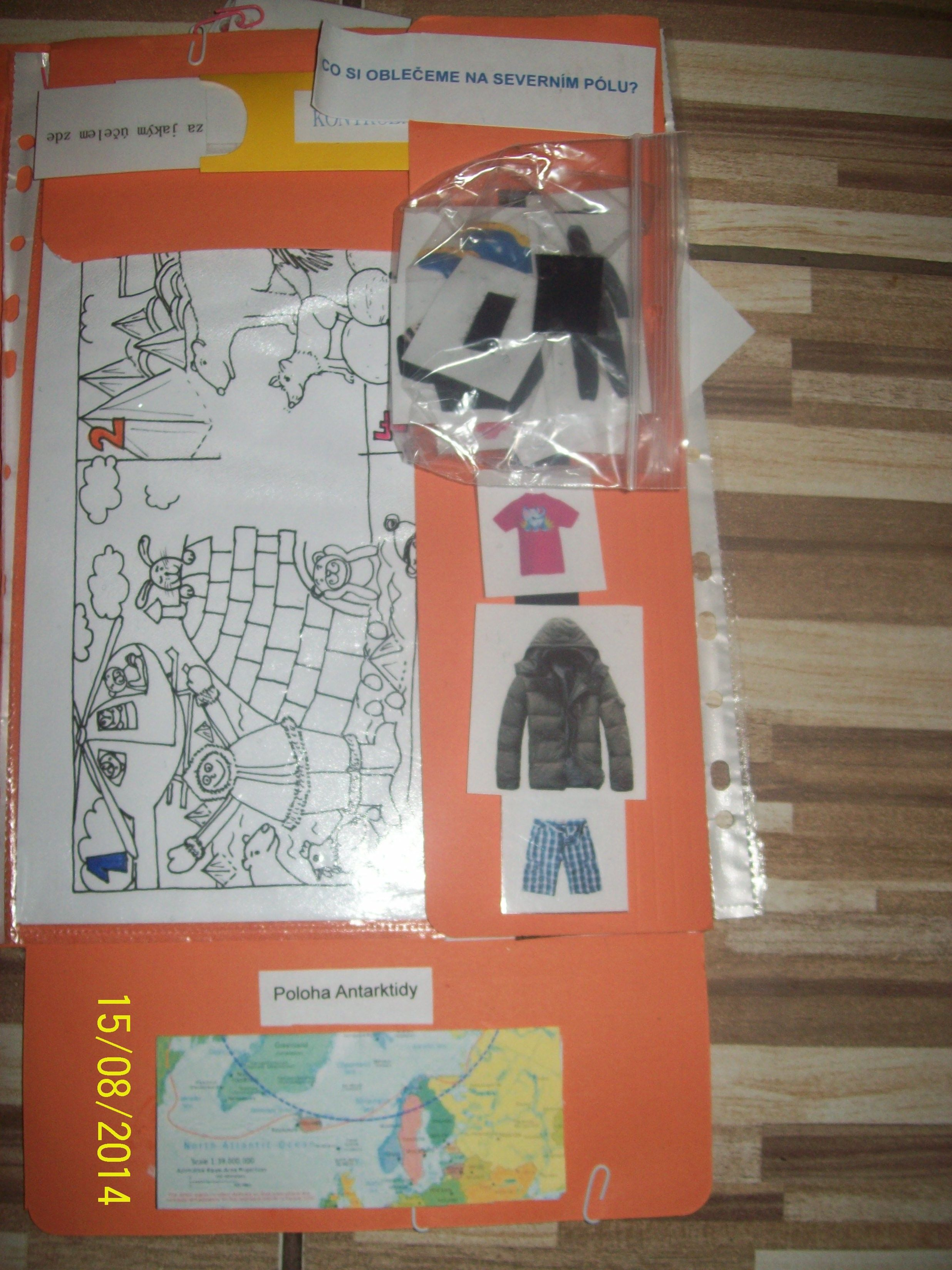 Lapbook Antarktida
