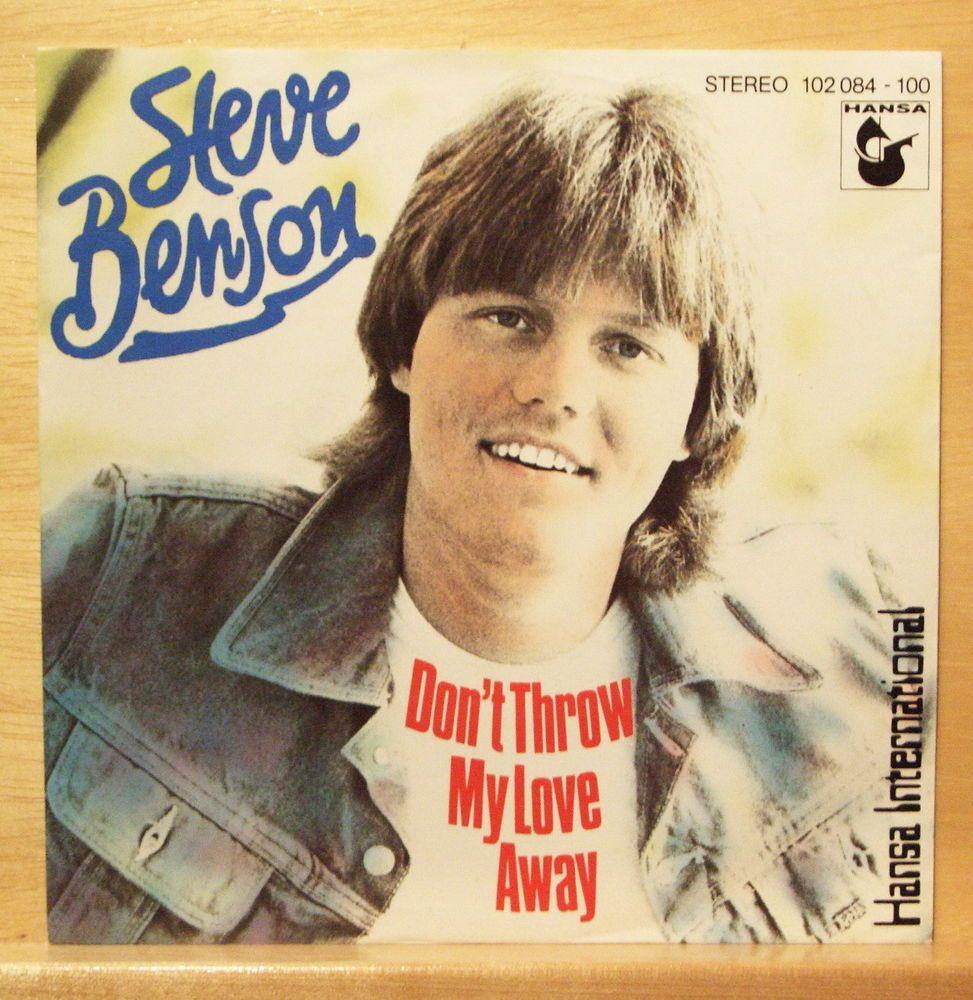 """STEVE BENSON - Dieter Bohlen - 7"""" Vinyl Single only - Modern Talking - MEGA RARE"""